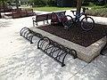Bicycle racks, St. Augustine.JPG