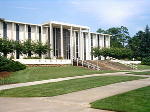 University of North Carolina at Asheville - Ramsey library, UNCA campus