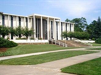 University of North Carolina at Asheville - Ramsey library, UNCA campus