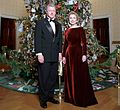 Bill and Hillary Clinton Christmas Portrait 1998 (cropped1).jpg