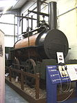 Billy in the Stephenson Railway Museum (1).JPG