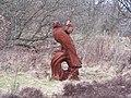 Bird and Boy Sculpture, Rutland Road, Sheffield - geograph.org.uk - 1762333.jpg
