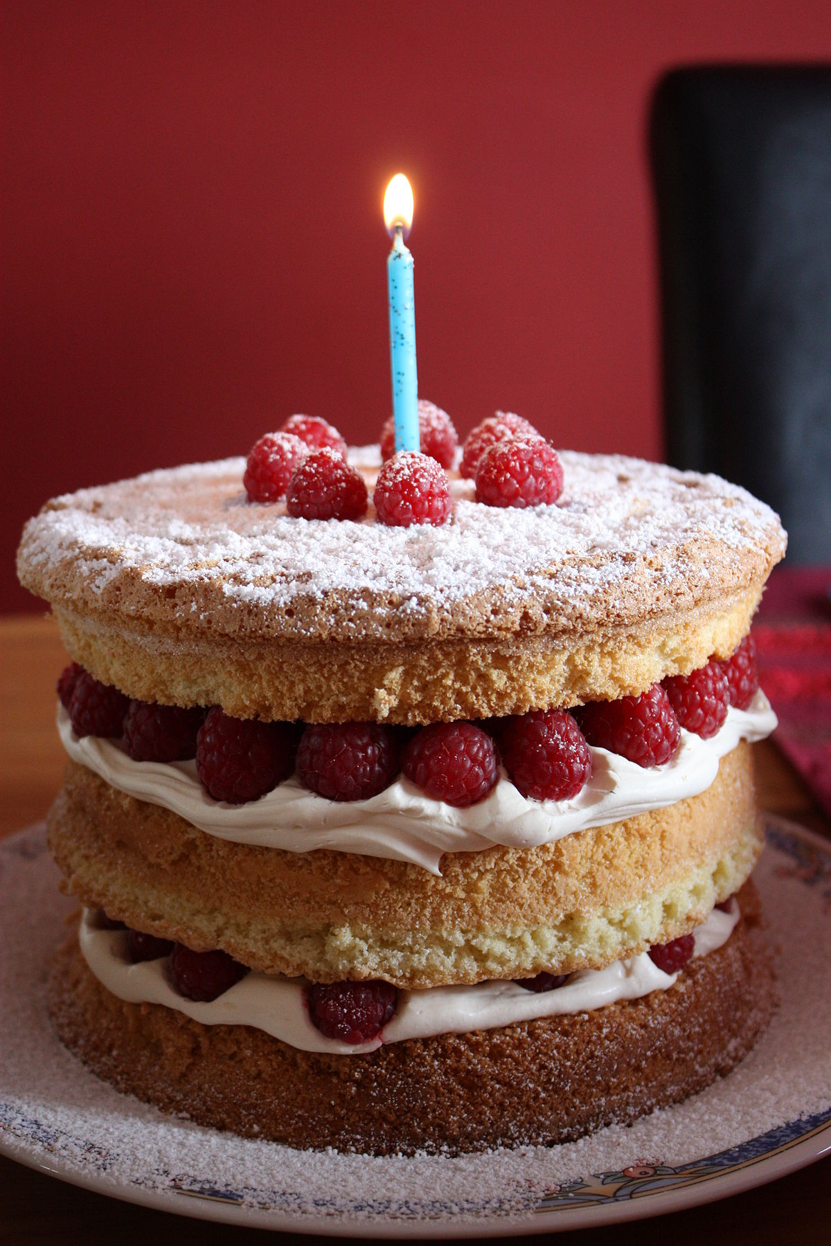 生日蛋糕 维基百科,自由的百科全书