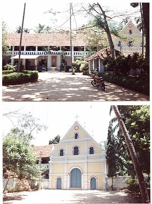 Roman Catholic Diocese of Quilon - Episcopal Bishop's house and chapel in Quilon