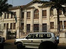 Palazzo del ministero della Giustizia di Bissau
