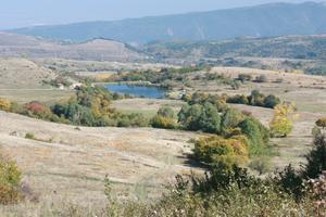 Bistritsa, Sofia - View from the tourist path between Bistritsa and Zheleznitsa