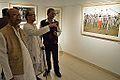 Biswatosh Sengupta - Somendranath Bandyopadhyay - Joy Mukhopadhyay - Joy Mukhopadhyay Solo Exhibition - Kolkata 2014-12-12 1282.JPG