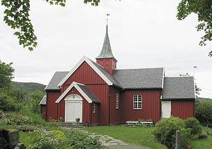 Bjugn Church - Image: Bjugn Kirke