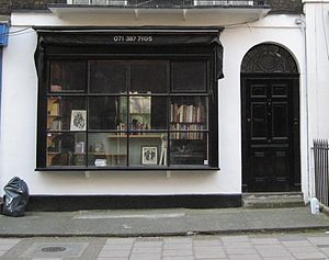 Black Books - Image: Black books shop