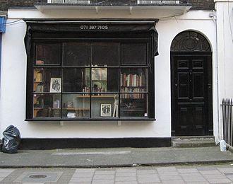Black Books - Image: Black books shop