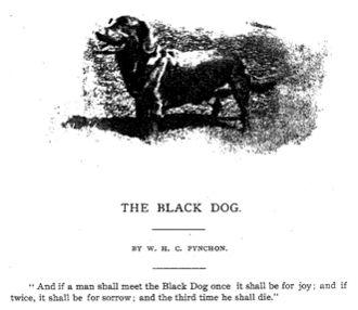 Hanging Hills - The Black Dog of the Hanging Hills