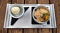 Blackberry and apple crumble at Black Horse Inn, Nuthurst West Sussex England 1 slightly different focus point.jpg