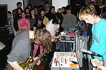 Black Dice at MassArt in 2006