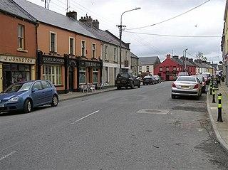 Blacklion Village in Ulster, Republic of Ireland