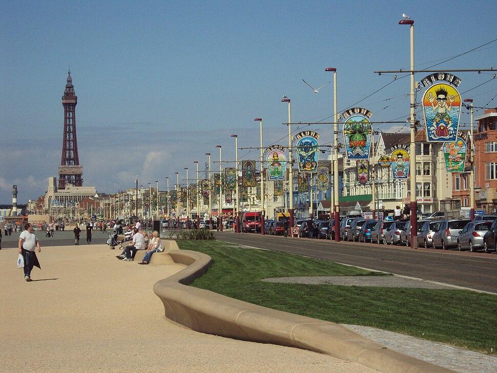 Blackpool promenade - DSC07204