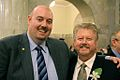 Blake Robert & Advanced Education Minister Greg Weadick.jpg