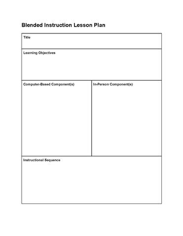 File blended instruction lesson wikiversity - Instructional design plan examples ...