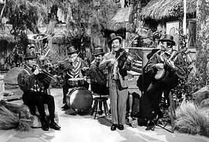 Bob Lido - Lido and the Hotsy Totsy Boys on the Welk St. Patrick's Day show in 1970.