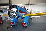 Boeing P-26 in 94th Pursuit markings at Virginia Beach Military Aviation Museum.jpg