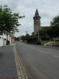 Boiry-Notre-Dame - Rue de l'église.JPG