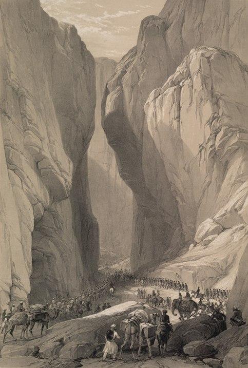 Bolan Pass 1842
