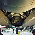 Bomb bay of a Vulcan bomber (34010875545).jpg