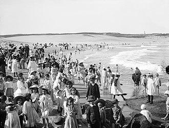 Bondi Pavilion - Image: Bondi Beach, 1900