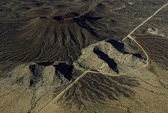 Sonoyta -  U.S.-Mexico border west of Sonoyta. Sonora is to the left (south).