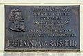 Born am Darss Oberfoersterei Gedenktafel Ferdinand von Raesfeld 01.jpg
