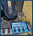 Boss ME-50 Guitar Multiple Effects & FS-5U footswitches x2, in front of Ibanez RG370DX Guitar with Fender FM212R Amplifier (2011-11-19 11.52.54 by Loco Steve).jpg