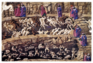 Divine Comedy Illustrated By Botticelli Wikipedia