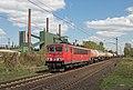 Bottrop Kokerei Prosper DB 155 182 met unit cargo richting Oberhausen (16606391903).jpg