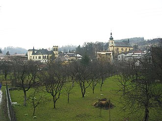 Brandýs nad Orlicí - General view of the town