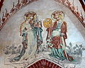 Brandenburg Katharinenkirche - Fresko 8 Amalberga Katharina.jpg