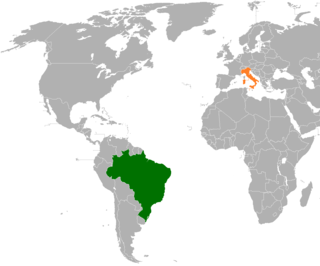 Diplomatic relations between the Federative Republic of Brazil and the Republic of Italy