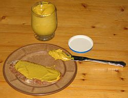 Bread with mustard.JPG