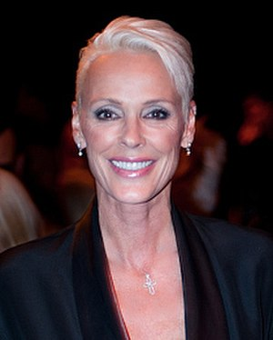 Brigitte Nielsen - Brigitte Nielsen at London Fashion Week in September 2010