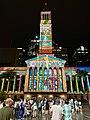 Brisbane City Hall light projection show 2018, 11.jpg