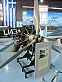 Bristol Blenheim Mk-I engine & part of the wing - Πτέρυγα και κινητήρας αεροσκάφους (26429442293).jpg