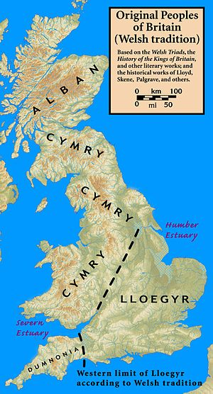 Wales in the Early Middle Ages - The peoples of Britain according to medieval Welsh tradition.