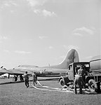 British Equipment at An American Airfield- Anglo-american Co-operation in Wartime Britain, 1943 D15124.jpg