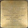 Brno Gedenkstein Rudolfína Bondyová.jpg
