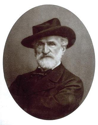 Giacomo Brogi - Portrait of Giuseppe Verdi by Giacomo Brogi.