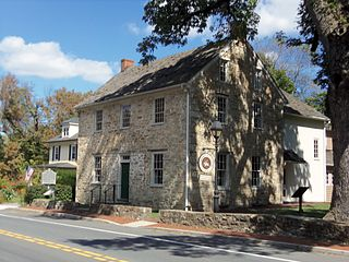 Brookeville Historic District United States Historic District located in the town of Brookeville, Maryland