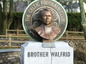 Ballymote - Commemorative sculpture of Brother Walfrid