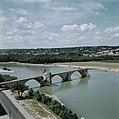 Brug St-Benézet in Avignon, Bestanddeelnr 255-9955.jpg