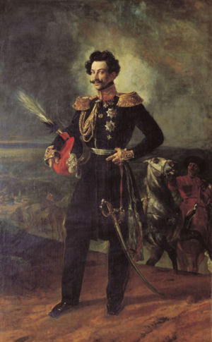 Vasily Perovsky - General-adjutant Count V. A. Perovsky. Painting by Karl Briulov (1837)