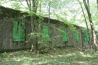 Angevillers - Former Hitler's HQ in the nearby forest