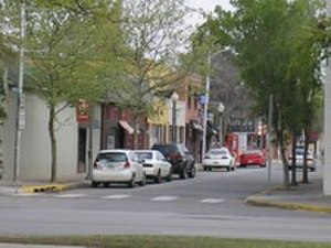Oklahoma City metropolitan area - Buchanan Street in Norman