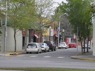 Oklahoma City metropolitan area - Buchanan Street in Norman